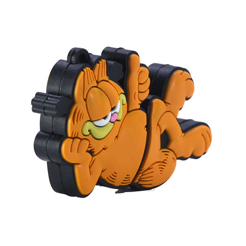 Garfield Pena Drive 32GB 16GB 4GB 8GB USB Flash Drive 64GB 128GB 256GB anime Kucing Flashdisk Hewan Memori Stik Hadiah Lucu