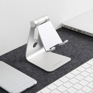 Image 3 - Youpin נייד טלפון מחזיק Tablet שולחן העבודה Stand טלפון סוגר יציב ללא רועד אלומיניום 7/12 סנטימטרים עבור משרד בית