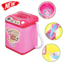 Pinkiou Wash Makeup Brushes Puff Blender Cleaning Tool Mini Electric Makeup Brush Cleaner Washing Machine Toy Cleaning Tool