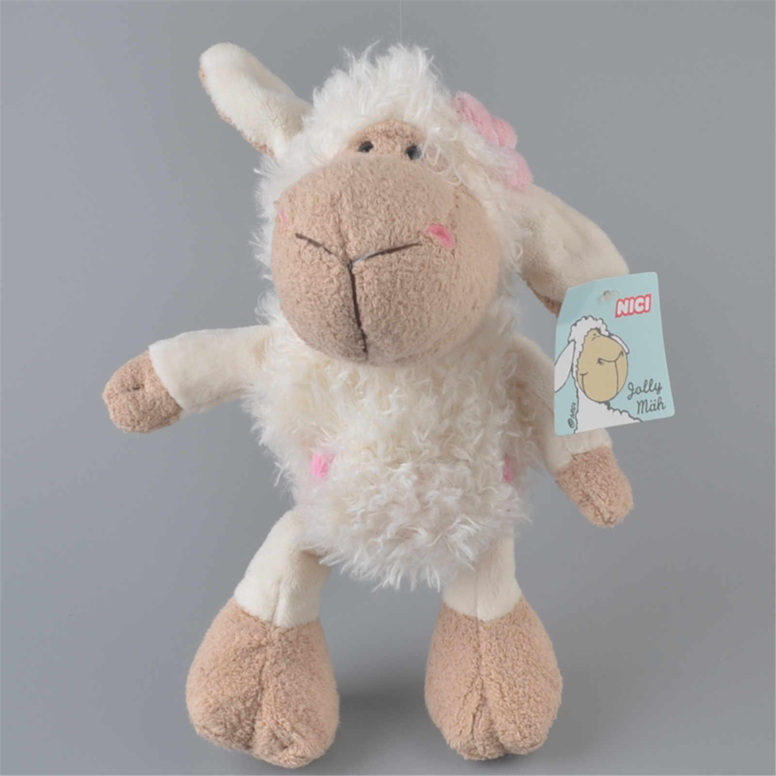 25cm-75cm różowy Lucy owca mały baranek baran stroik kwiat owce wypchane pluszowe zabawki, Baby lalka dla dzieci prezent darmowa wysyłka