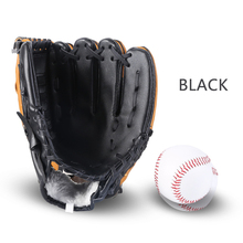 Outdoor Sports Left Hand for Male/Female/Kids Three colors Baseball Glove Softball hball Practice Equipment Size 10.5/11.5/12.5