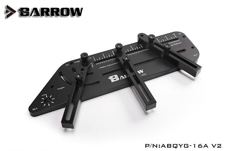 Barrow ABQYG-16A V2 Multi-angle Acrylic   PMMA   PETG Rigid hard tube bend shape computer water cooling