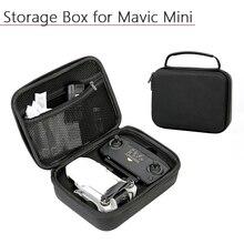 Bolsa de nylon para drone, à prova de choque, armazenamento impermeável, caixa protetora de controle remoto, estojo para dji mavic mini, acessórios para drones