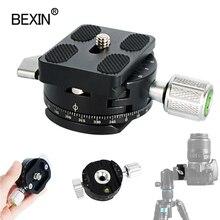 Mini Camera Clamp Dslr Quick Release Clamp Statief Plaat Mount Clip Panoramisch Roterende Klem Voor Arce Adapter Statief Camera