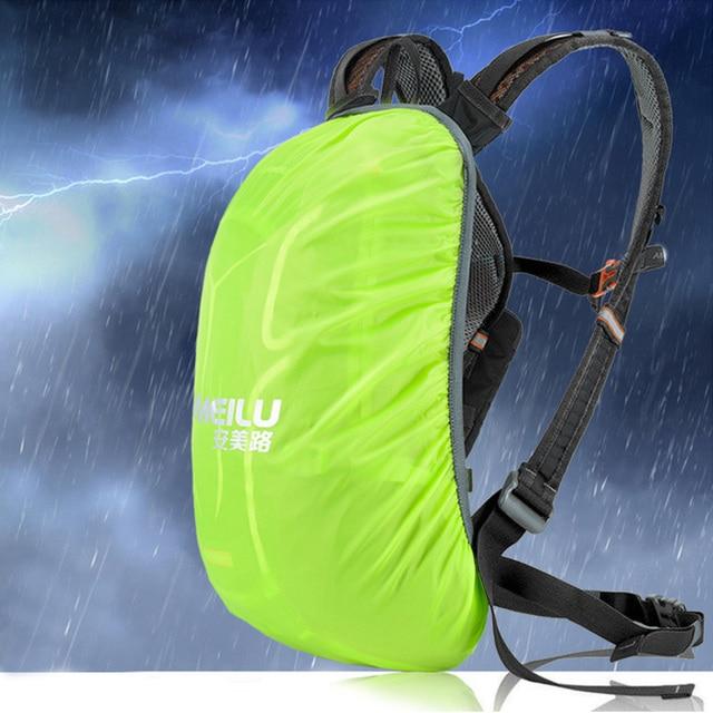Lixada 18l saco de bicicleta à prova dwaterproof água mtb ciclismo mochila com capa chuva escalada respirável caminhadas acampamento bicicleta hidratação mochila 6