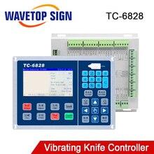 Trocen Vibrante Coltello Sistema di Controllo TC 6828 4.3 pollici di Sostegno Una Testa di Lavoro di File usb Ingresso WEB File di Ingresso