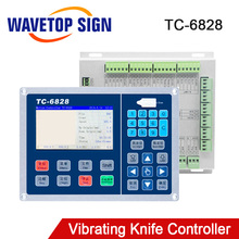 Trocen Vibrierende Messer Control System TC 6828 4,3 zoll Unterstützung Einen Kopf Arbeits usb Datei Eingang WEB Datei Eingang