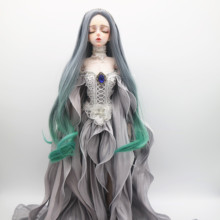 Joint-Movable Plastic Dolls Doll-Selling BJD Dress Customized Fashion with And Wig Handmade