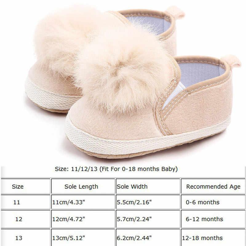 เด็กสาวเด็กแรกเกิดรองเท้าเด็กอ่อนนุ่มPrewalker Anti-Slipรองเท้าผ้าใบ