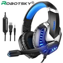Gaming Headphones With Microphone Hi-Fi Gaming Headset 4D Stereo RGB Marquee Earphones