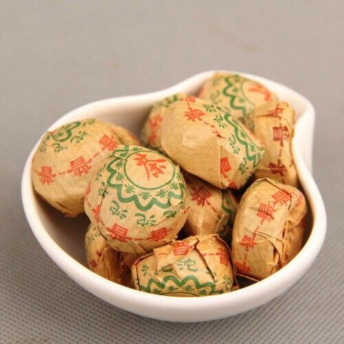 2010 Original Puer Cooked Ripe Yunnan Puerh Mini Tuo Cha Health Weight Loss Tea