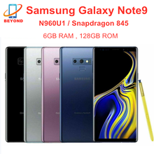 Samsung Galaxy Note9 N960U1 N960U Mobiele Telefoons 128Gb Rom 6Gb Ram Lte Octa Core 6.4 'Nfc Snapdragon 845 Originele Mobiel