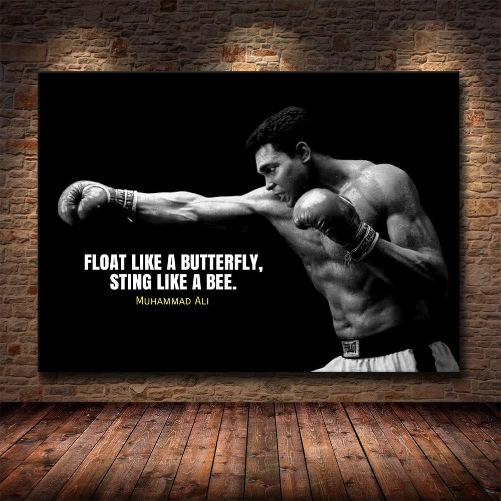 Muhammad Ali affiches et impression mur Art toile peinture célèbre peinture Art pour salon Cuadros décor