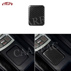Carbon Fiber Seat Heating Button Trim Frame Sticker Cover For Toyota GT86 FT86 ZN6 Subaru BRZ 2013-2019 Car Accessories