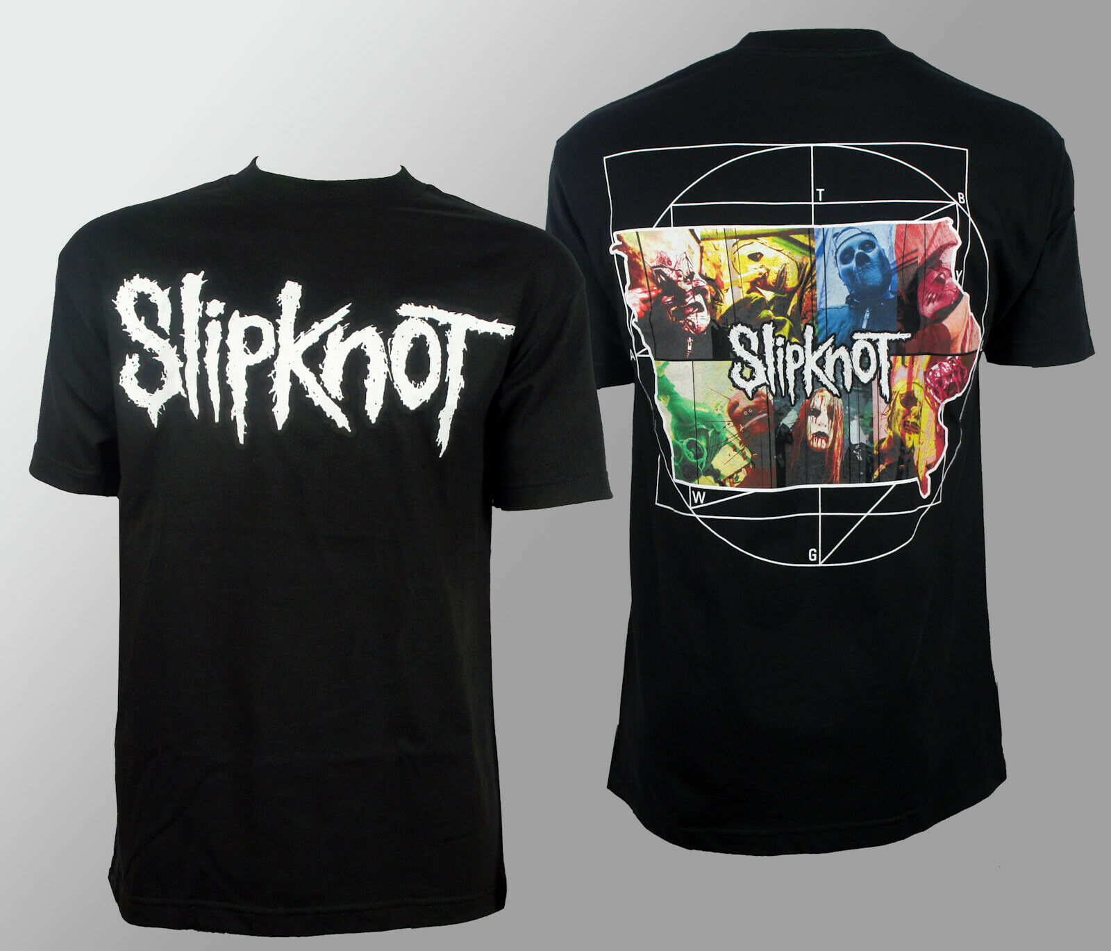 Authentic <font><b>SLIPKNOT</b></font> <font><b>Iowa</b></font> 2011 T-Shirt S NEW Round Collar Short Sleeve Tee Shirts top tee image