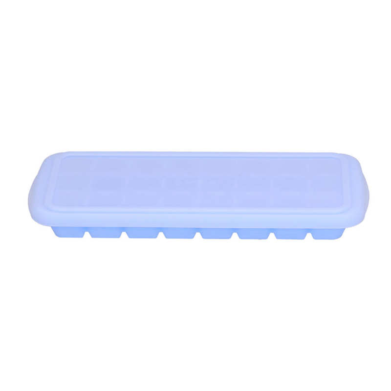 Ice Tray Durable Easy To Demould Non‑stick Transparent Silicone Ice Tray for Kitchen for Home