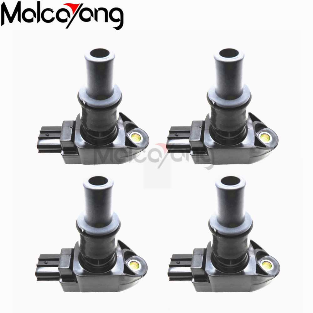 SET OF 4 GENUINE MAZDA ROTARY IGNITION COILS N3H1-18-100C