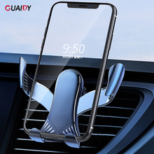 Cute Car Phone Holder Stand Bracket Simple Automatic Gravity