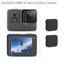 Tempered Glass Protector Cover Case For Go Pro Gopro Hero 5 6 7 Hero5 Hero6 Hero7