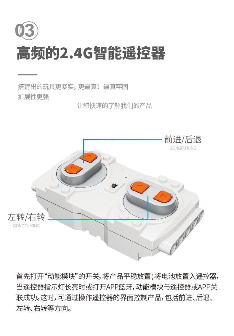 MOULD KING 13001-13004 Robot M2 M1 M3 M4 Set with Remote Control