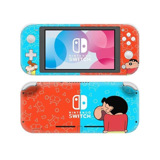 Crayon Shin Chan NintendoSwitchสติกเกอร์รูปลอกผิวสำหรับNintendoสวิทช์Lite Protector Nintend Switch Liteสติกเกอร์ผิว