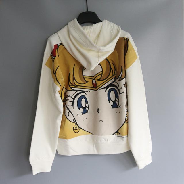 Sailor Moon Kawaii Pocket Hoodies