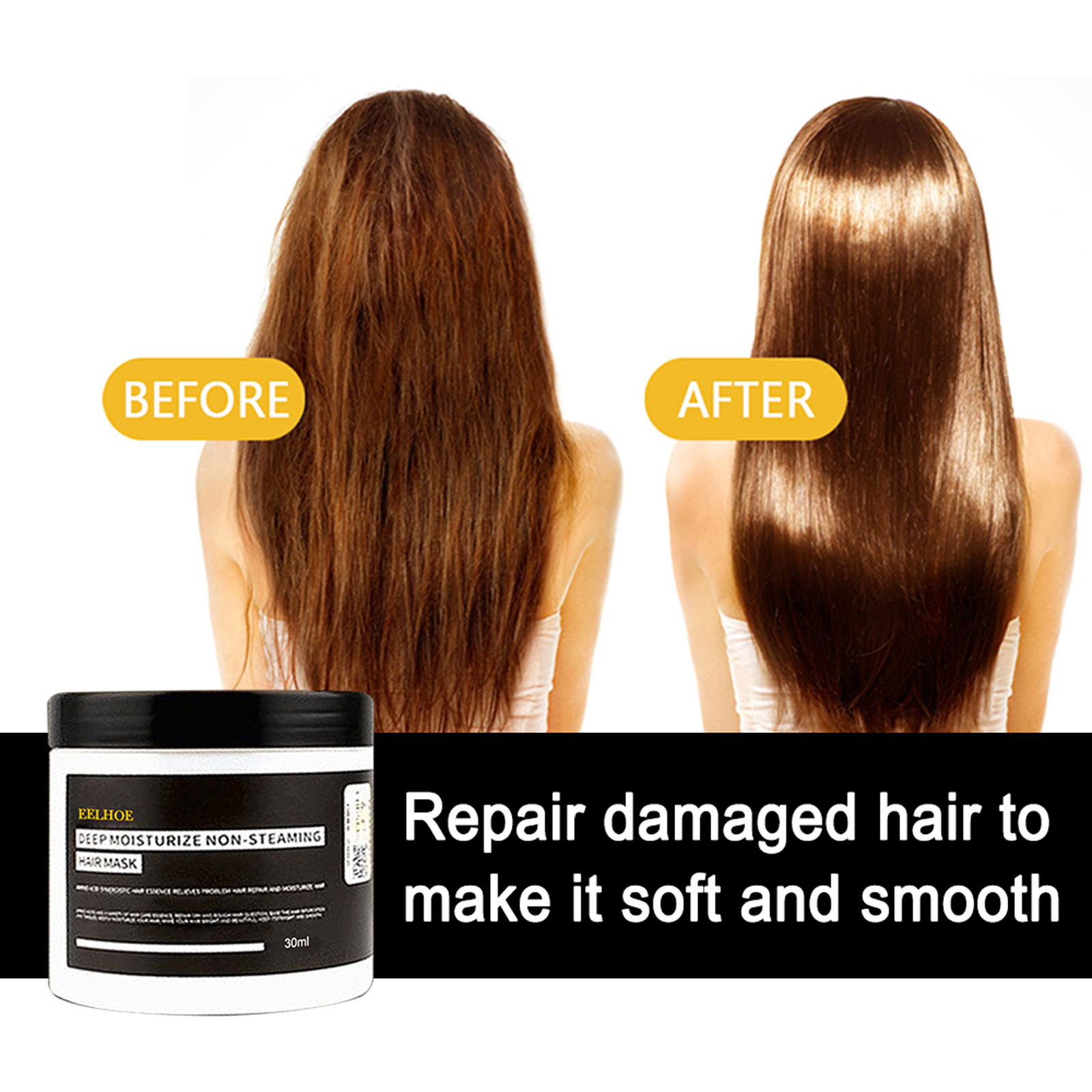 Intensive Nourishing Hair Care To Repair Damage And Control Frizzy Hair Cream