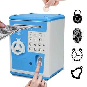 Box Safe-Box Banknote Deposit Piggy-Bank Cash-Coins Gift ATM Password-Money Electronic