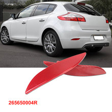 Choques traseiro do Refletor de Luz Lente 265650004R para Renault Fluence Megane Grandtour MK3 Hatchback