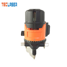 TECLASER Laser Level 360 degree Automatic Leveling Measurement Instrument 2/3/5 RED LIne Outdoor Lines Cross Line Floor Wall electronic leveling level 5 line 8 line gll5 40e 8 40e laser level line throwing instrument high precision