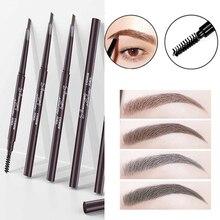 Eyebrow-Pencils Cosmetic Makeup-Eye Long-Lasting Waterproof Double-End Pigments Automatic
