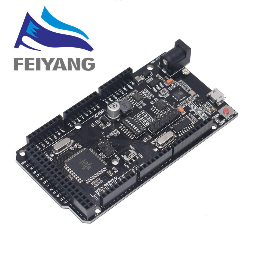 NEW Mega2560 + WiFi R3 ATmega2560+ESP8266 32Mb memory USB-TTL CH340G. Compatible for Arduino Mega NodeMCU For WeMos ESP8266