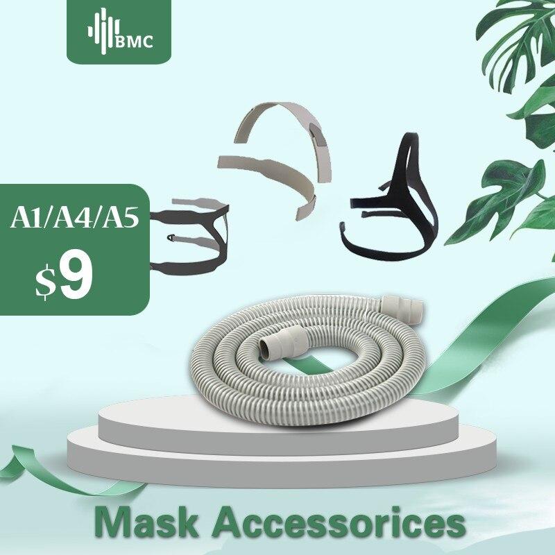 BMC CPAP Hose Tubing Headgear For CPAP/Auto CPAP/BiPAP Masks High Quality Sleep Respiratory For Sleep Snoring Airway Health Care