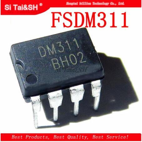 10pcs/lot FSDM311 DIP-8 DM311 DIP8 LCD Management Chip Switch IC