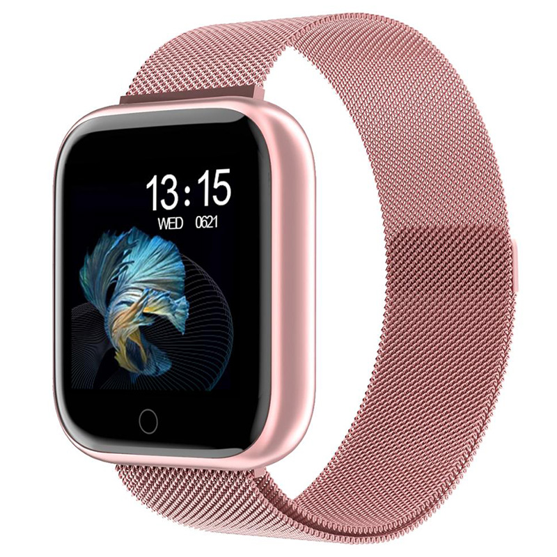 TIMEWOLF T80 Smart Watch Women 2020 Andorid Bluetooth Men Smart Watches Waterproof IP68 Smartwatch For Iphone Ios Android Phone