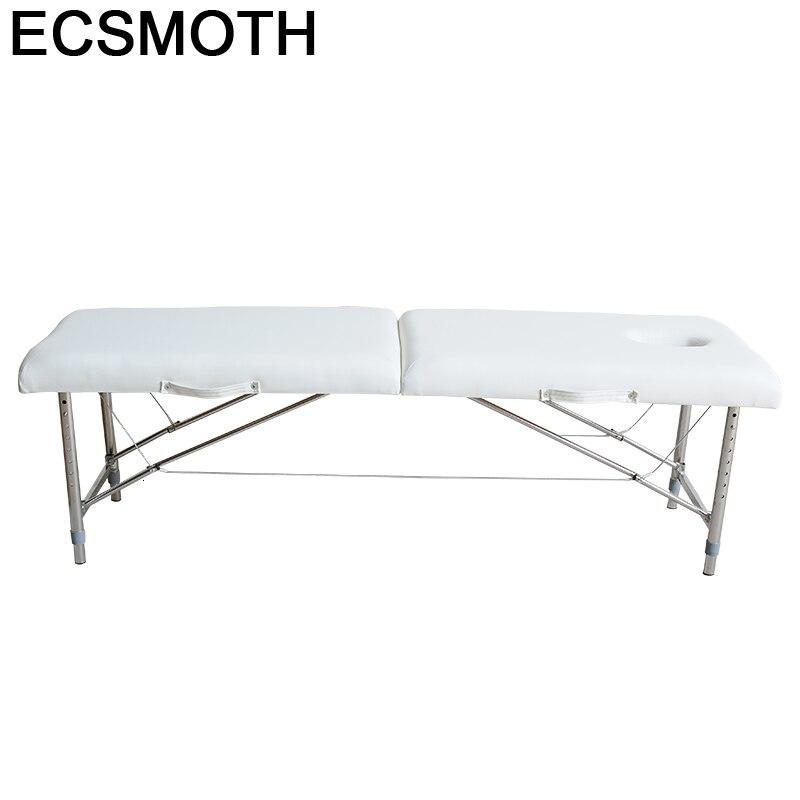 Beauty Cama Para Envio Gratis Mueble Masaj Koltugu De Furniture Camilla Masaje Plegable Salon Chair Table Massage Bed