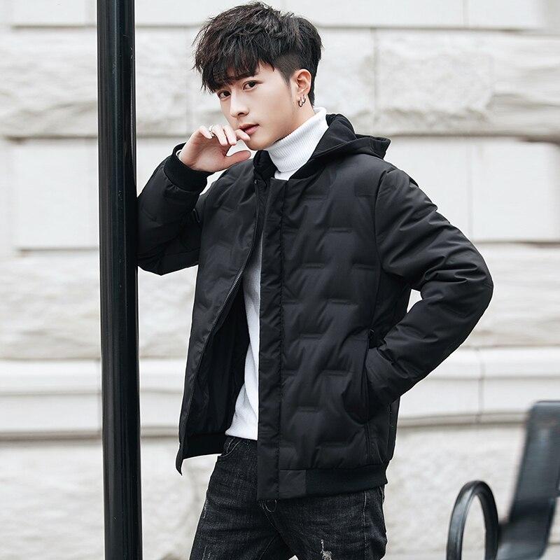 Winter Quality Inspection Collar Short Men's Down Jacket