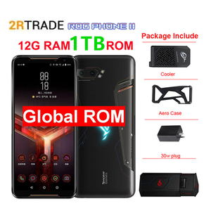 "Asus ROG 2 12G RAM 1TB ROM Super Game phone ZS660KL Mobile Phone Snapdragon855+ 6.59""1080x2340 h 48MP 6000mAh Android 9.0(China)"