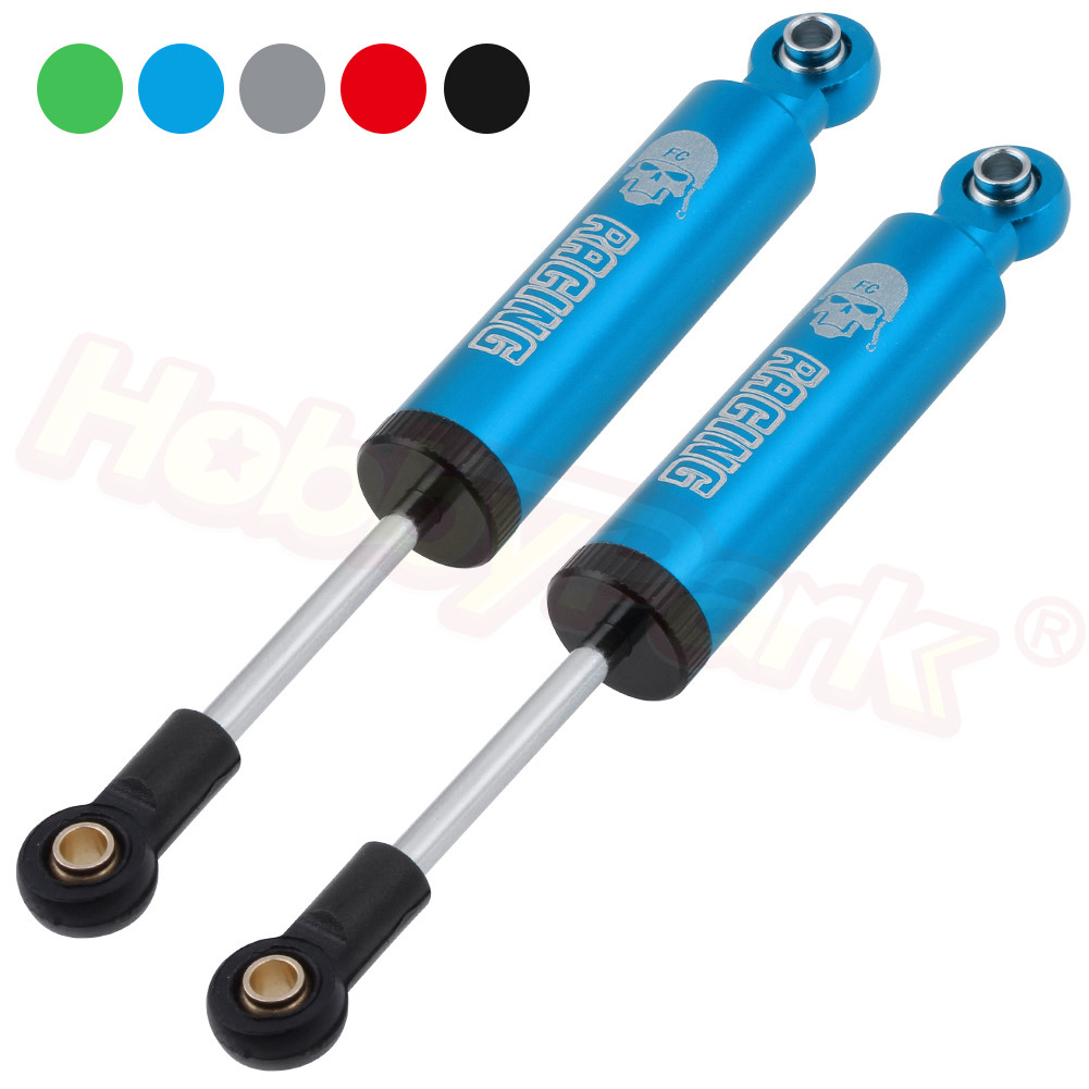 ZTING 2 Pack Alloy Automotive Shock Absorber HSP 02002 102004 for RC 1//10 Drift Parts Car