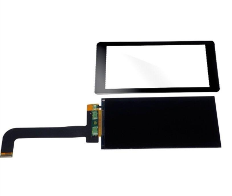 5.5 Inch 2K LCD Screen 2560x1440 LS055R1SX03 Display With Glss For WANHAO D7 3d Printer Projector Parts