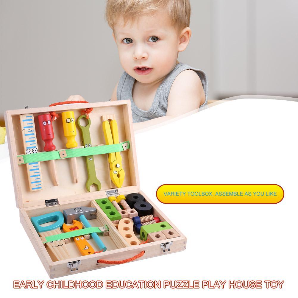 Caixa de ferramentas de reparo para crianças,