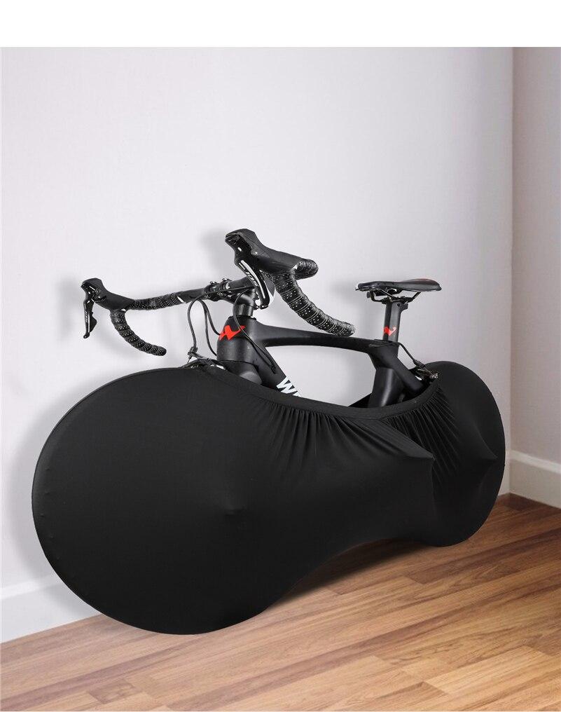 Mimapro Ciclismo MTB bicicleta de carretera Protector de ruedas cubierta a prueba de polvo a prueba de arañazos interior tamaño de la rueda de engranaje de protección: 24