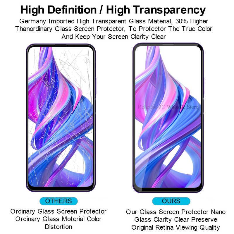 Honer 9x 保護ガラス honor huawei honor ため 9x 9x プロ 9 × honor 9X 9XPro HLK-L21 スクリーンプロテクター安全強化フィルム 3D