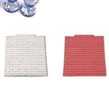 1 шт. креативные каменные кирпичные силиконовые формы для помадки Инструменты для выпечки формы для конфет