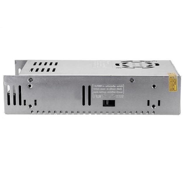 AC110V/220 V to DC12V 33A 400 วัตต์แรงดันไฟฟ้าหม้อแปลงไฟฟ้า LED แถบแหล่งจ่ายไฟ