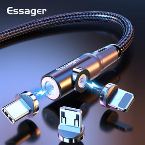 Essager Magnetic Micro USB Cable For iPhone Samsung Xiaomi Fast Charging Magnet USB Type