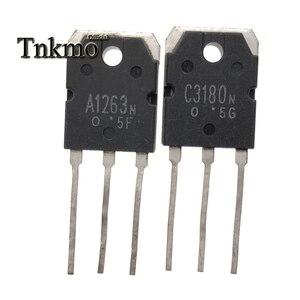 Image 4 - 10 пар, 2SA1263, 2SA1263N, A1263N + 2SC3180, 2SC3180N, C3180N, TO3P, силикон, NPN, PNP, тройной рассеянный тип, бесплатная доставка