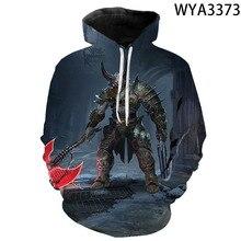 Sweatshirts Boy Game-Doom Eternal Streetwear Pullover Hoodies Men Long-Sleeve Print Kids