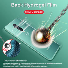 Curved Screen Protector For Oneplus 8 Hydrogel Film 6 6t Edge Full Cover 7t 7 Pro Transparent Protective Film Not Tempered Glass