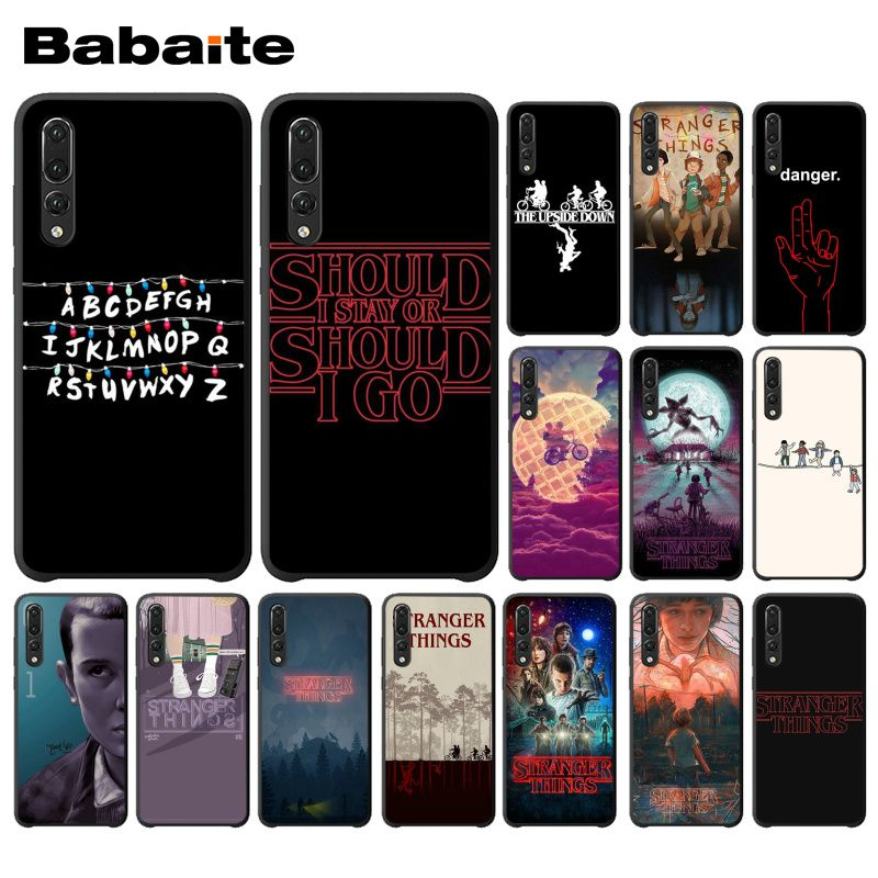 Babaite TV <font><b>Stranger</b></font> <font><b>Things</b></font> Pattern DIY Luxury <font><b>Phone</b></font> <font><b>Case</b></font> for <font><b>Huawei</b></font> <font><b>P20</b></font> Mate20 <font><b>Lite</b></font> Honor Play 8A 8C 7C 5A Y6 Y5 II Psmart image